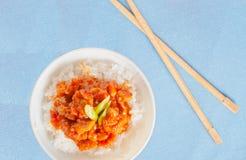Spicy korean barbecue also known as Hanmari Royalty Free Stock Photos