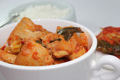 Spicy Korean chicken Stock Images