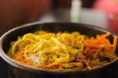 Spicy Korean soup Stock Photos