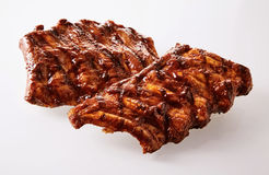 Spicy marinated spare ribs Stock Photography