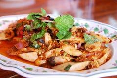 Spicy minced mushrooms Stock Photos