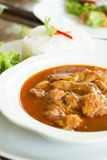 Spicy Muslim curry Stock Image