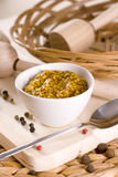 Spicy mustard. French food dip Stock Image
