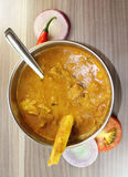 Spicy Mutton Curry Stock Photography