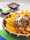 Spicy nachos Royalty Free Stock Photography