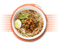Spicy noodle Royalty Free Stock Photography
