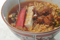 Spicy noodle Stock Photo