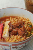 Spicy noodle Stock Photography