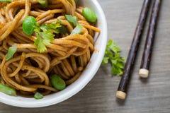 Spicy Noodles Stock Photos