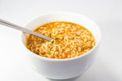 Spicy noodles Stock Images
