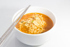 Spicy noodles Royalty Free Stock Photos