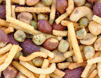 Spicy nut mix Royalty Free Stock Photography