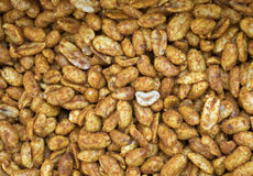 Spicy Nuts Royalty Free Stock Photography