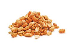 Spicy nuts Stock Images