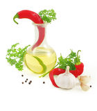 Spicy oil Royalty Free Stock Photo