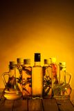 Spicy oils Royalty Free Stock Photo