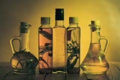 Spicy oils Royalty Free Stock Photos