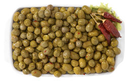Spicy olives Stock Image
