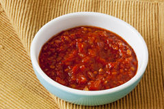 Spicy onion chutney Royalty Free Stock Photos