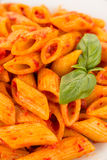 Spicy pasta Royalty Free Stock Photography