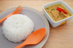 Spicy pork curry Stock Photos