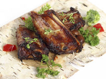 Spicy pork ribs Stock Photography
