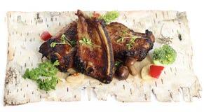 Spicy pork ribs Stock Photos