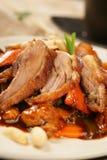 Spicy Pork Roast With Peanuts Royalty Free Stock Photos