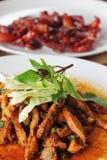 Spicy Pork Royalty Free Stock Photo