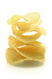 Spicy potato chips Royalty Free Stock Photography