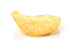 Spicy potato chips Stock Photo