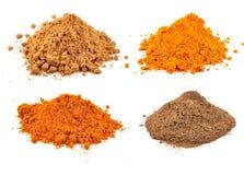 Spicy powders Stock Photos