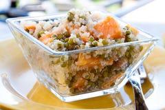 Spicy Quinoa Salad - Vegan royalty free stock photos