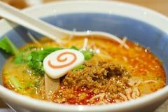 Spicy Ramen Royalty Free Stock Photos