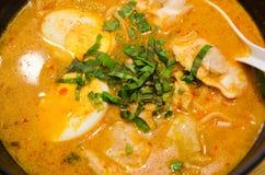 Spicy Ramen Stock Photography