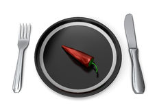 Spicy ready to eat Stock Photography