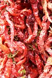 Spicy red hot pepper background stock photo