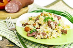 Spicy rice Stock Images