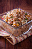 Spicy Rice and Beans Salad Stock Photos
