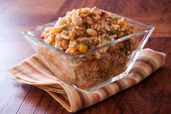 Spicy Rice and Beans Salad Royalty Free Stock Photo