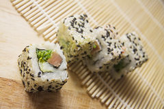Spicy rolls Stock Images