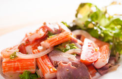 Spicy Salad Stock Images