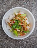 Spicy salad Royalty Free Stock Photos