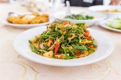 Spicy salad, Thai food Stock Image