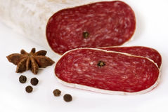 Spicy Salami Stock Image