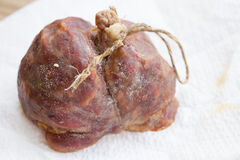 Spicy salami calabrese Stock Photography