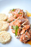 Spicy Salmon Royalty Free Stock Photo
