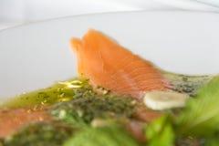 Spicy salmon Stock Photo