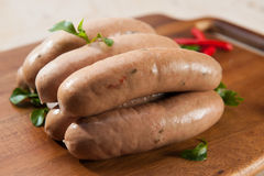 Spicy sausages Royalty Free Stock Photography