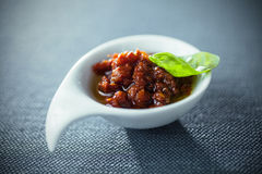 Spicy savory dip or chutney Stock Photography
